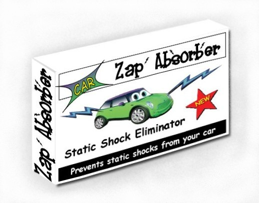 car static shock protector Zap Absorber Box